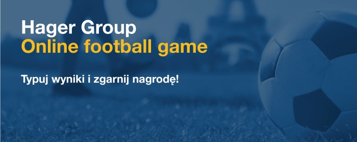 Hager Group Online football game